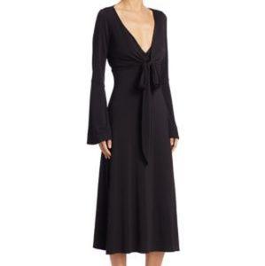 Cinq à Sept Black Lourdes Jersey Dress Size 4